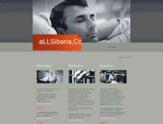 allsiberia.com screenshot