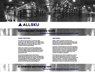 allsku.com screenshot