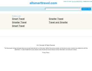 allsmarttravel.com screenshot
