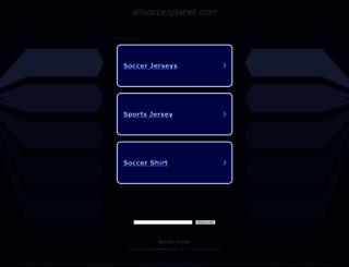 allsoccerplanet.com screenshot