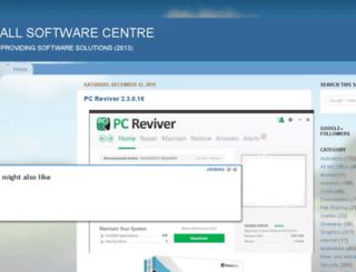 allsoftwarecentre.com screenshot