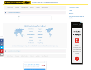 allsolutions.adpost.com screenshot