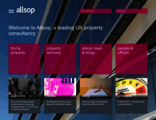 allsop.co.uk screenshot