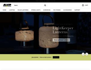 allsopgarden.com screenshot