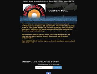 allsouledoutband.com screenshot