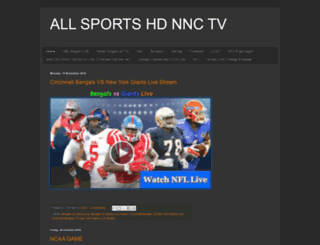 allsportshdnnctv.blogspot.com screenshot