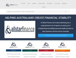 allstarfinance.com.au screenshot