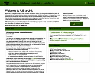 allstarlink.org screenshot
