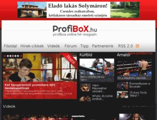 allstars.profibox.hu screenshot