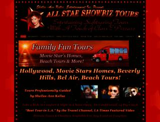allstarshowbiztours.com screenshot