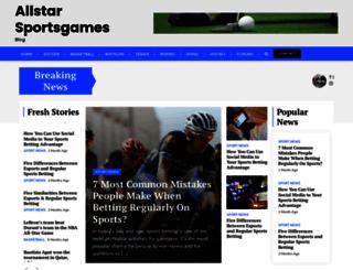 allstarsportsgames.com screenshot