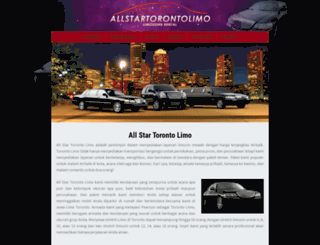 allstartorontolimo.com screenshot