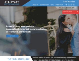 allstateinvestigation.com screenshot