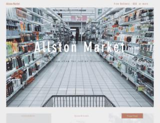allstonmarket.com screenshot