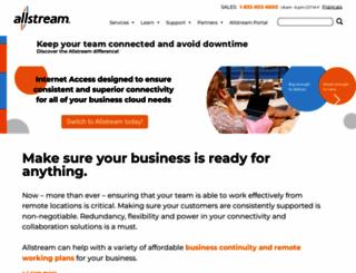 allstream.com screenshot