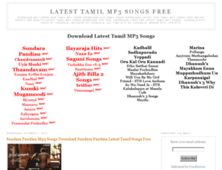 alltamilmp3songs.blogspot.com screenshot