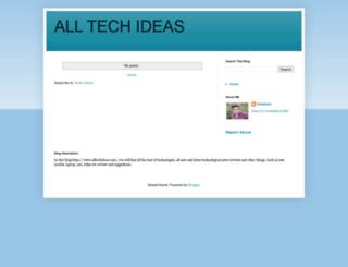 alltechideas.com screenshot