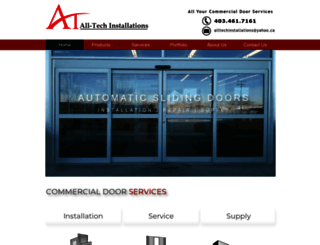 alltechinstallations.com screenshot