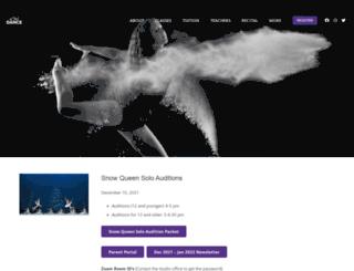 allthatdancesite.com screenshot