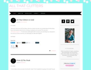 allthatglitters810.wordpress.com screenshot