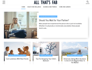 allthatsfab.com screenshot