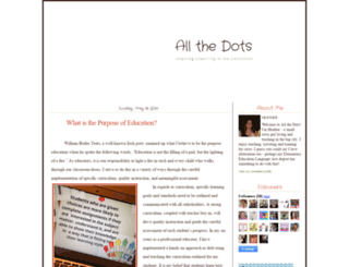 allthedots.blogspot.it screenshot