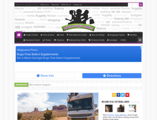 allthefrugalladies.com screenshot