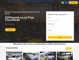 alltheweb.co.za screenshot