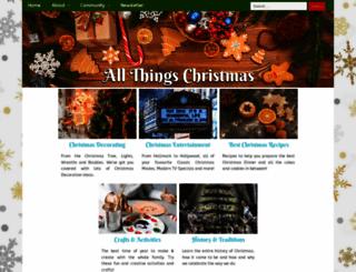 allthingschristmas.com screenshot