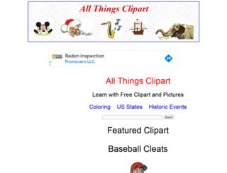 allthingsclipart.com screenshot