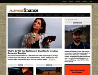 allthingsfinance.net screenshot