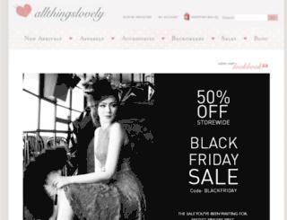 allthingslovely.com.sg screenshot
