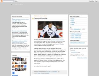 allthingsphillysports.blogspot.com screenshot