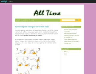 alltime.edublogs.org screenshot