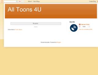 alltoons4u.blogspot.com screenshot