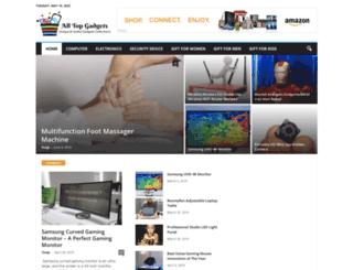 alltopgadgets.com screenshot