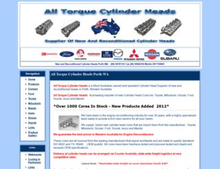 alltorquecylinderheads.com.au screenshot