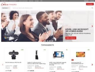 alltron-solutions.ch screenshot