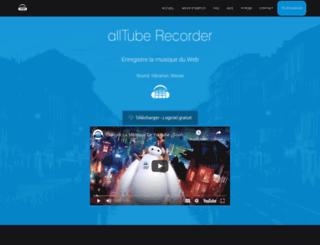 alltube-recorder.com screenshot