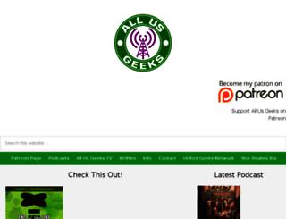 allusgeeks.com screenshot