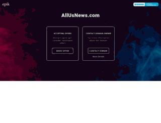 allusnews.com screenshot