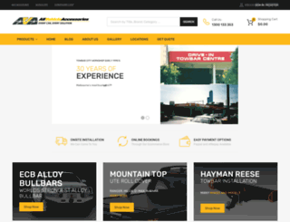 allvehicleaccessories.com.au screenshot