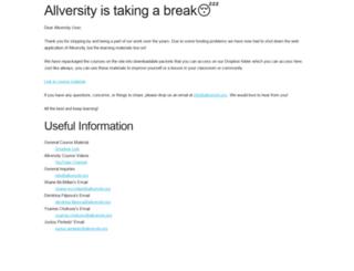 allversity.org screenshot