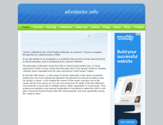 allvideotv.info screenshot