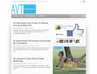 allviralthings.com screenshot
