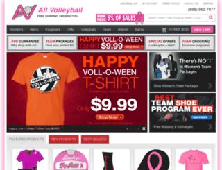 allvolleyball.commercev3.com screenshot