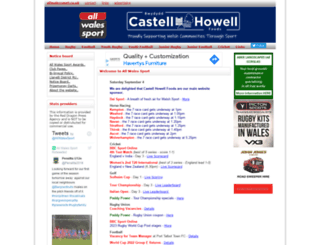 allwalessport.co.uk screenshot