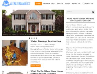 allwaterdamages.com screenshot