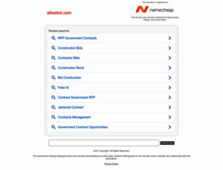 allwebid.com screenshot