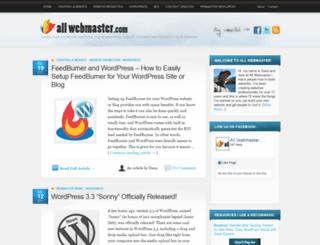 allwebmaster.com screenshot